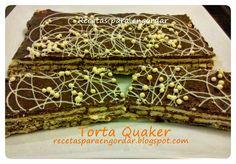 Recetas para engordar...: Torta Quaker Flan, Decorative Boxes, Gift Wrapping, Gifts, Food, Food Cakes, Sweet Treats, Deserts, Grandmothers
