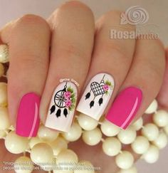 Opting for bright colours or intricate nail art isn't a must anymore. This year, nude nail designs are becoming a trend. Here are some nude nail designs. Owl Nail Art, Owl Nails, Pink Nails, Minion Nails, Fabulous Nails, Perfect Nails, Gorgeous Nails, Fancy Nails, Trendy Nails