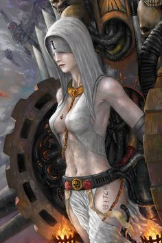 Sisters of Battle: penitent engine by Theocrata on DeviantArt