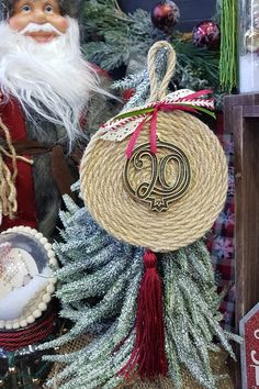Christmas Home, Christmas Crafts, Diy Xmas, Macrame Knots, Lucky Charm, Diy And Crafts, Diy Projects, Just For You, How To Make