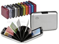 ögon STOCKHOLM - Aluminium Kartenetui Geldbörse Card Case für bis zu 12 Karten - 11 Farben