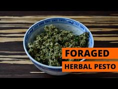 How to make foraged pesto | Grist Test Kitchen