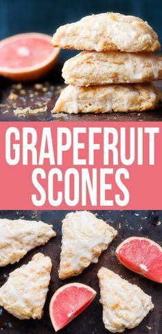 Grapefruit Scones - replace butter with smart balance, milk with almond milk