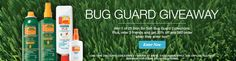 Bug Guard Giveaway  Enter for your chance to win.