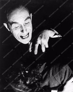 photo Frederick Fymm as Dracula 1938 stage play production 863-21