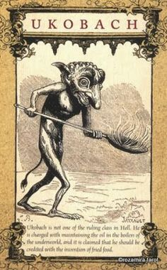 Album Archive - The Daemon Tarot Evil Demons, Angels And Demons, Mythological Creatures, Mythical Creatures, Tarot, Dragons, Dark Creatures, Dark Evil, Solomons Seal