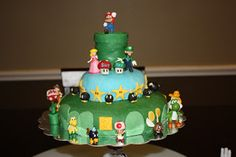 CeeNSpots: A Super Mario Birthday Party Cake