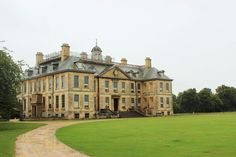 Found on Bing from emmaplusthree.com Style At Home, Belton House, Rooftop, Lawn, England, Windows, Mansions, House Styles, Big