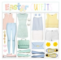 """HAPPY EASTER EVERYONE"" by abigail-rodriguez22 ❤ liked on Polyvore"