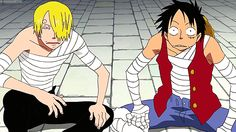 Sanji and Luffy. Seeing this after reading Chapter 844 is kinda sad :(