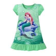 Girl's Cartoon Printed Sleepwear Girls Sleepwear, Girls Pajamas, Bright Paintings, Disney Princess Pictures, Girl Sleeping, Sleep Dress, Girl Cartoon, Summer Girls, Night Gown