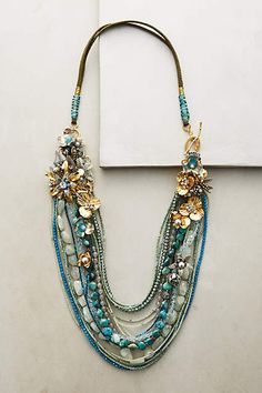 Palau Layer Necklace - anthropologie.com