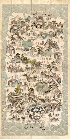 Antique Map of China, Hainan Region 1820