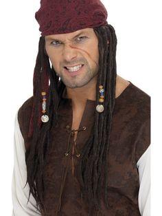 Chusta Pirata z warkoczykami