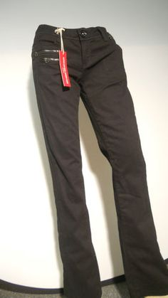 NEW LISTING.  GUESS JET BLACK PANTS  SIZE 26