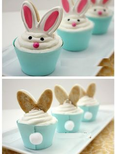 Lovely Rabbit Cupcakes!