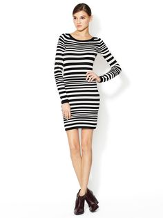 Marissa Stripe Bambi Sweaterdress by French Connection at Gilt