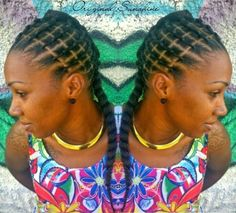 Image may contain: 2 people Natural Hair Braids, Braids For Black Hair, Natural Hair Styles, Short Hair Styles, Braided Ponytail Hairstyles, African Braids Hairstyles, Ethnic Hairstyles, Braid Hair, Protective Hairstyles