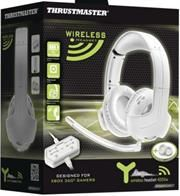 Thrustmaster Y-400Xw Wireless Stereo Gaming Headset designed for use with Xbox 360®- White Retail Box 1 year Limited Warranty | Product Description