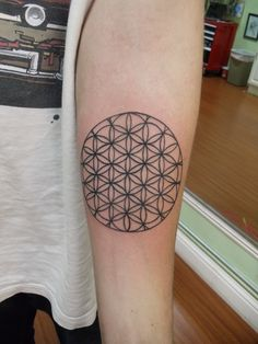 25 Fabulous Flower of Life Tattoo Designs