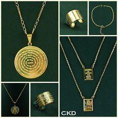 Acessórios com motivos religiosos!! www.ckdsemijoias.com.br