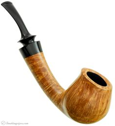 Doctor's Smooth Tulip with Polymerized Organics Pipes at Smoking Pipes .com