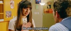 Rachel. Hi was my person || RIP Cory