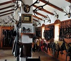 The tack room of my dreams.
