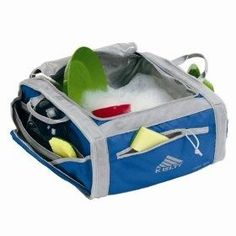Kelty Camp Sink (Azul), (camping, camping gear, coleman, portable sinks, cooking, kitchen, camp kitchen, backpacking, portable sink, camp kitchen work table) sports-outdoors