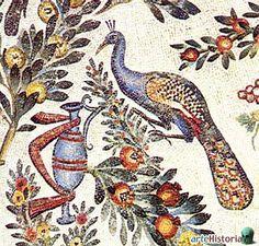 27 - Mosaico de Pavo Real en el Mausoleo de Santa Constanza