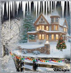 Blingee Christmas Cards with Bling | Questo Blingee è stato creato con Blingee Plus! Aggiorna adesso ...