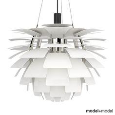 3D Louis Poulsen Ph Artichoke Model - 3D Model
