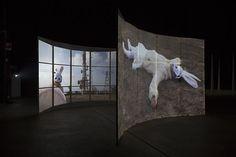 "Joan Jonas ""Light Time Tales"" at Fondazione HangarBicocca, Milan, 2014"