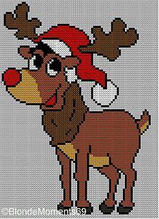 images4-e.ravelrycache.com uploads knitting-nanna 170712416 Rudolph_In_Christmas_Hat_small2.JPG