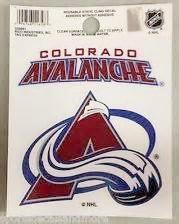 Colorado Avalanche static cling