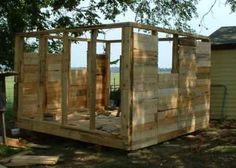 Self Build Pallet Chicken Coop