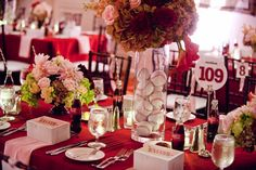 Baseball Decor Elements » Alexan Events | Denver Wedding Planners, Colorado Wedding and Event Planning