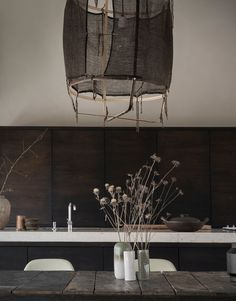 Danish Cottage Style Charm and Japanese Zen Aesthetics / Norm Architects Brown Kitchens, Built In Furniture, Eclectic Design, City Living, Coastal Homes, Architect Design, Commercial Interiors, Minimalist Home, Bathroom Interior