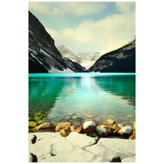 Lake Louise Photography Print 11x14 Fine Art Banff Canadian Rockies... ($40) ❤ liked on Polyvore