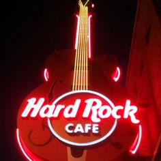 Hard Rock Cafe, in Downtown Gatlinburg, TN
