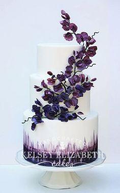Kelsey Elizabeth Cakes Wedding Cake Inspiration #weddingcakes