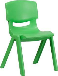 Flash Furniture YU-YCX-005-GREEN-GG Green Plastic Stackable School Chair with 15-1/2-Inch Seat Height Flash,http://www.amazon.com/dp/B007NFW5OY/ref=cm_sw_r_pi_dp_rRk.sb102B6E9HH1