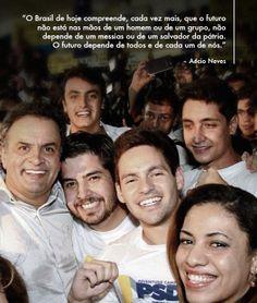 Quem é da população faz para a população! #AecioNeves #ParaMudarOBrasil