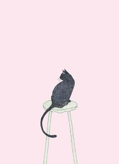2016 works Pink Wallpaper Iphone, Cute Wallpaper Backgrounds, Cute Wallpapers, Family Portrait Drawing, Cat Tattoo Designs, Wedding Illustration, Art Inspiration Drawing, Cool Sketches, Cat Pattern