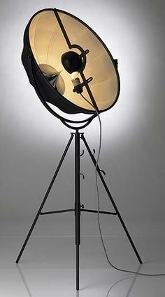 Fortuny Studio 76 Tripod Floor Lamp Was Designed In 1985 By Mariano For The