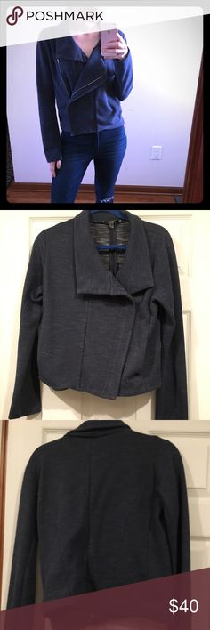 DKNYC Zip Up Jacket This jacket is amazing for a night out or work! It goes great with jeans or dress pants! DKNYC Jackets & Coats