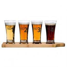 Valentino Kitchens - Barware - Beer Tasting set #kitchens #kitchenware #beer #bar