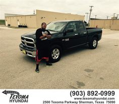 "https://flic.kr/p/taZ2bq | Congratulations to Trey Wimbish on your #Ram #1500 from Ric Metcalf at Texoma Hyundai! #NewCar | <a href=""http://www.texomahyundai.com/?utm_source=Flickr&utm_medium=Dmaxx&utm_campaign=DeliveryMaxx"" rel=""nofollow"">www.texomahyundai.com/?utm_source=Flickr&utm_medium=D...</a>"