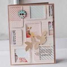 little polaroid-style frame card - by Betsy Veldman