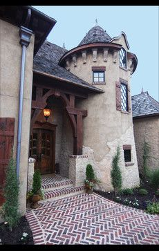 la bastide de moustiers traditional entry other metro euro world design storybook homesold - Old World Design Homes